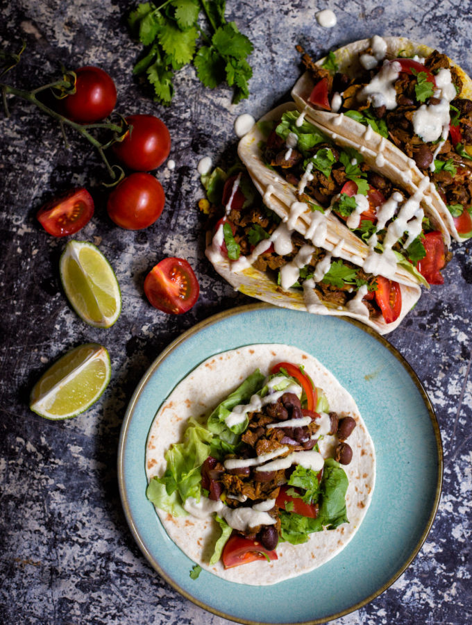 Veganské tacos s jackfruitem